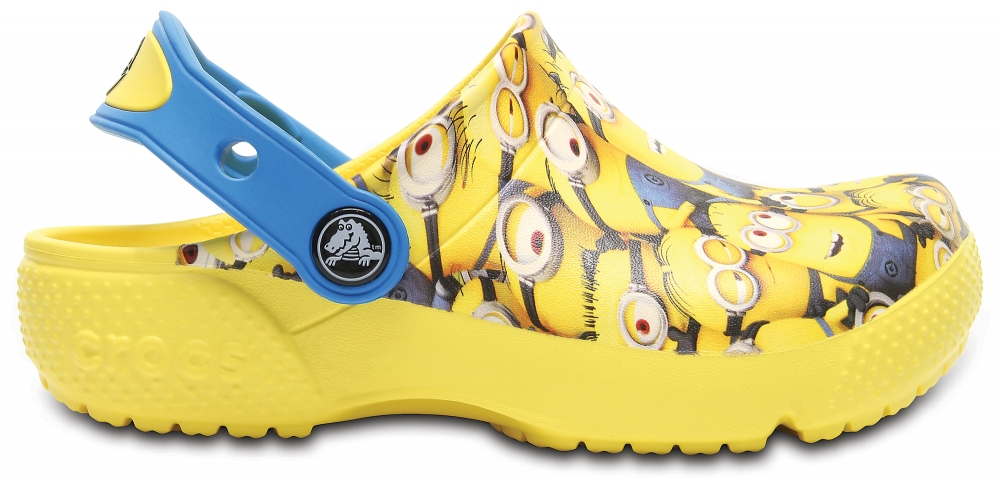 Crocs Clog Unisex Sunshine Crocs Fun Lab Minions Graphic