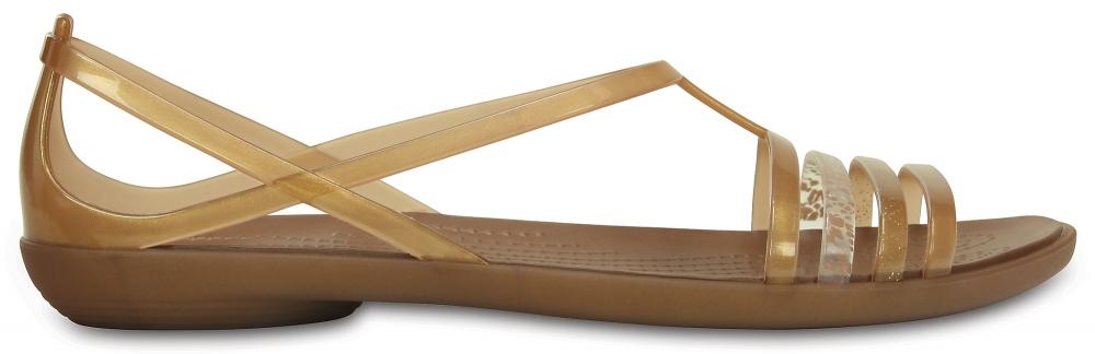 Crocs Sandal Mujer Bronze Crocs Isabella