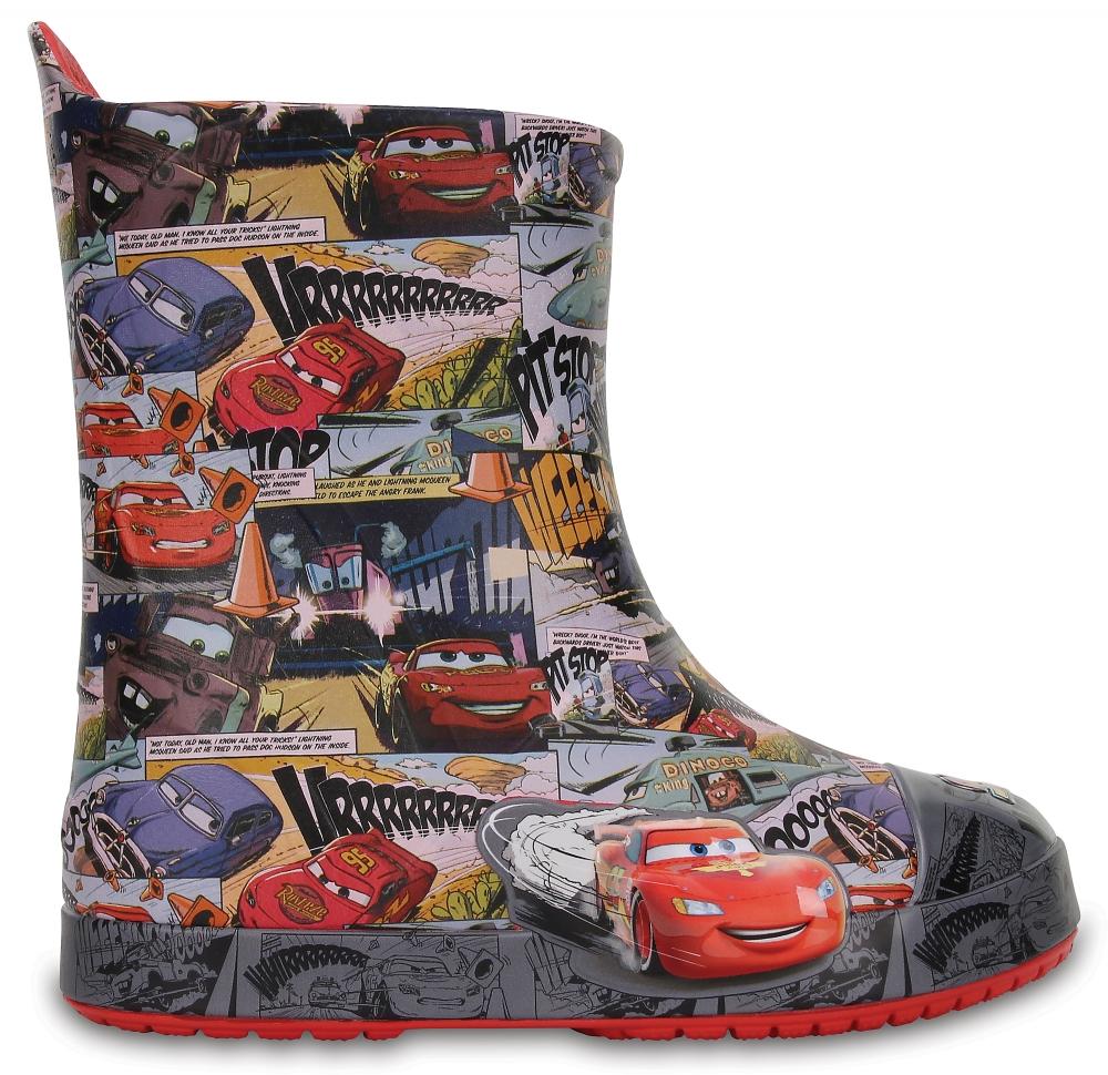Crocs Boot Unisex Flame Crocs Bump It Cars Lightning McQueen s