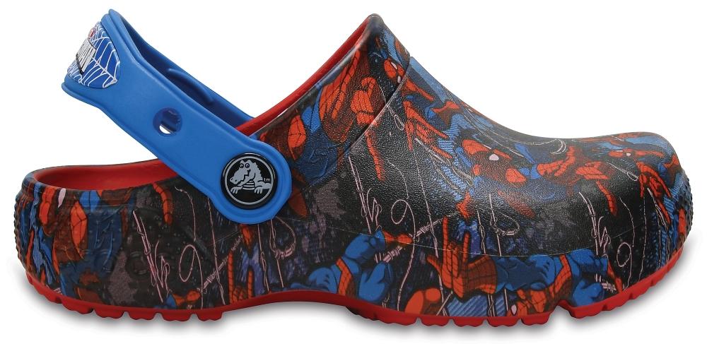 Crocs Clog para chicos Flame Crocs Fun Lab Spider-Man s