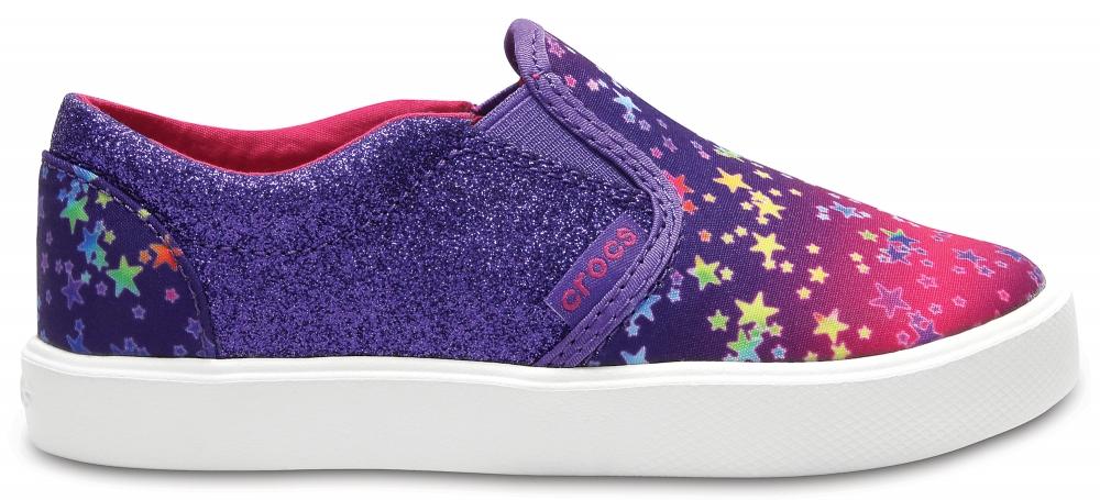 Crocs Shoe Unisex Multi Stars CitiLane Novelty Slip-On