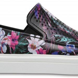 Crocs Shoe Mujer Tropical CitiLane Roka Graphic Slip-Ons
