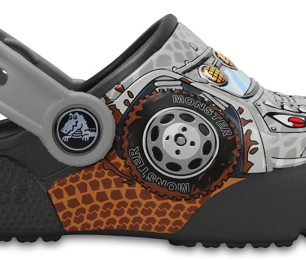 Crocs Clog Unisex Monster Truck / Graphite Crocs Fun Lab Lights s