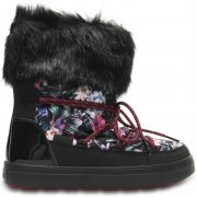 Crocs Boot Mujer Tropical/Negros LodgePoint Graphic Lace