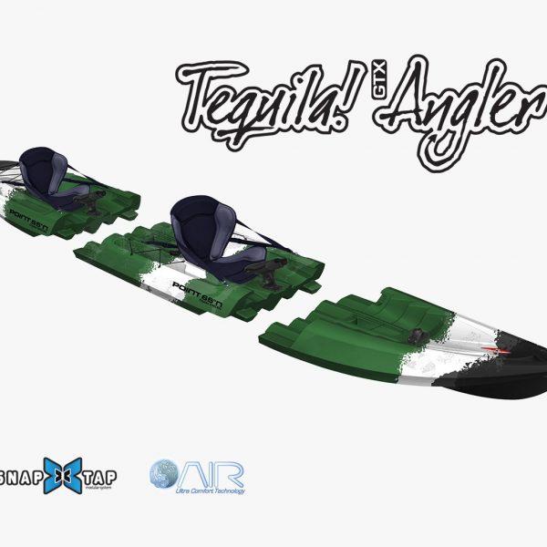 Kayak TEQUILA GTX PESCA TANDEM