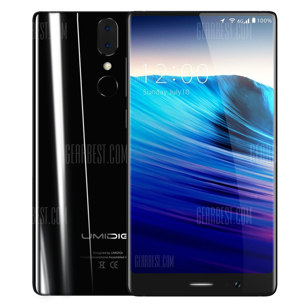 UMIDIGI Crystal 4G Phablet 4GB RAM Version