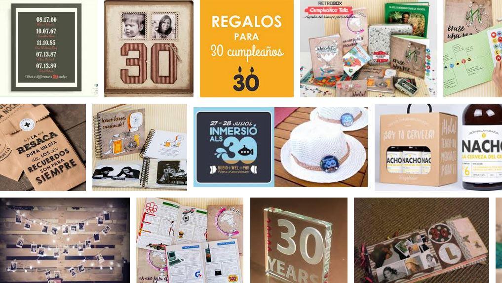 ideas de regalo 30 años notizalia