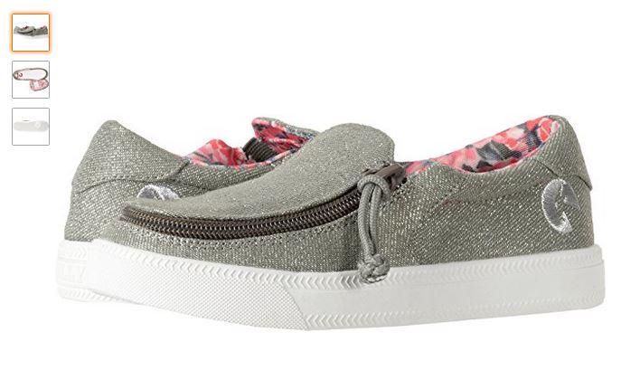 zapatos con cremallera especiales para niños con paralisis cerebral