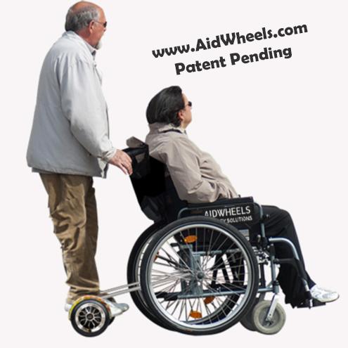 sistema aidwheels silla de ruedas