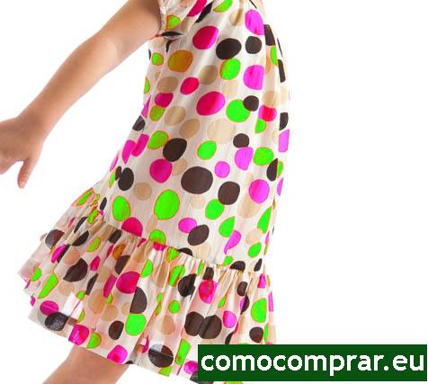 vestidos niña verano