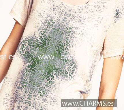 camisetas estampadas mujer