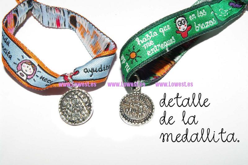 cinta mensaje detalle medal