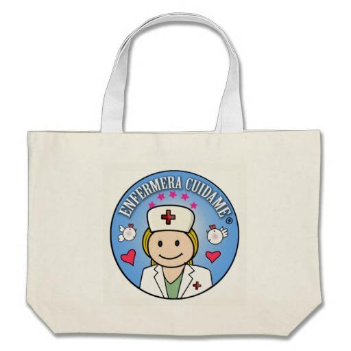 Bolso de Playa o Tote enfermeras