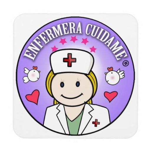 Posavasos Corcho enfermera