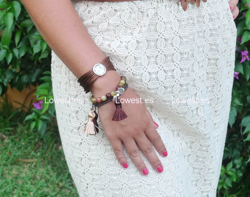 hacer pulseras de moda
