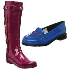 zapatos botas hunter