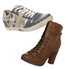zapatos mustang botas