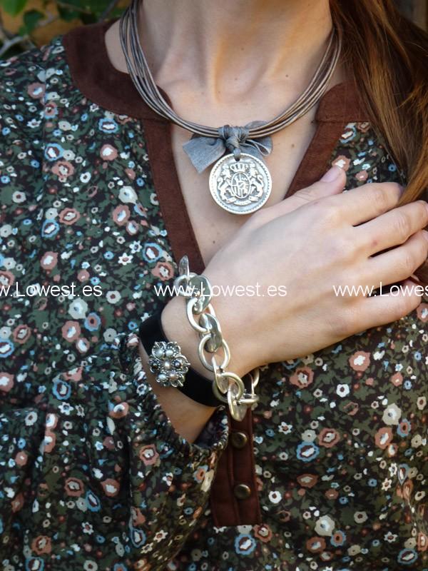 botones de porcelana con budas pulseras