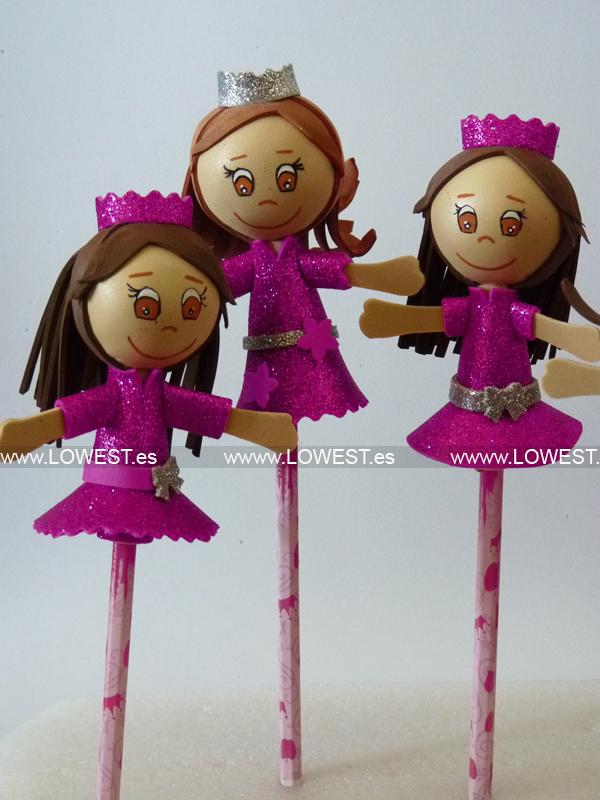 fofulapices de princesas rosas