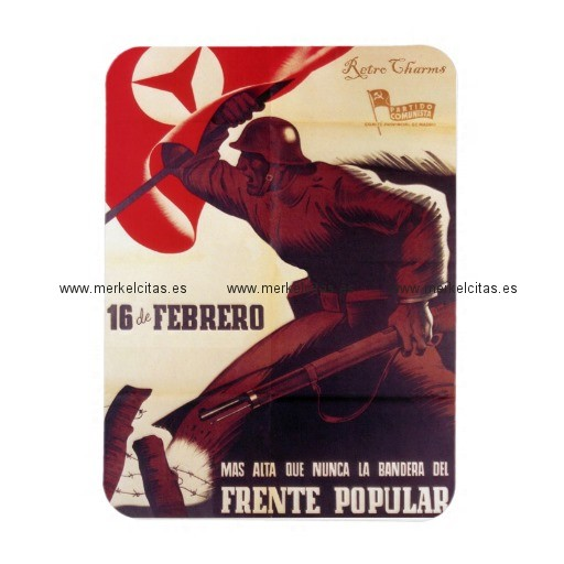 cartel frente popular