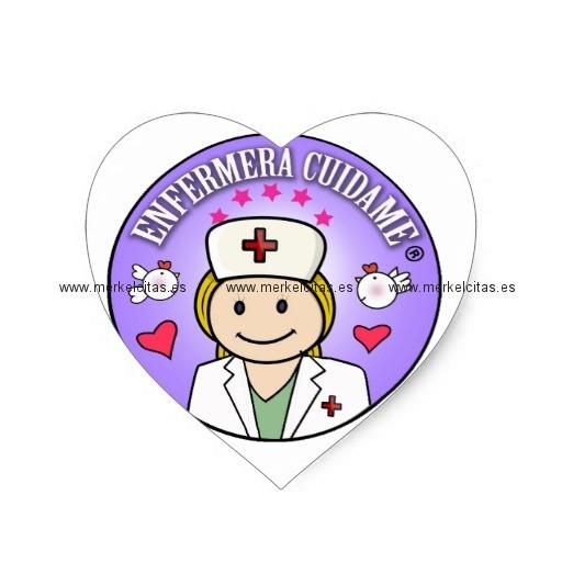 pegatinas de enfermeras