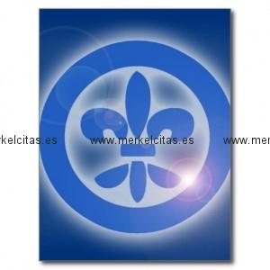 flor de lis lis flower shine healing effects postal retrocharms 1
