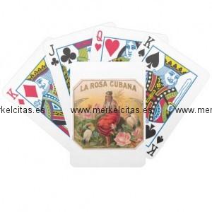 la rosa cubana diseno vintage cuba baraja cartas de poker retrocharms 1