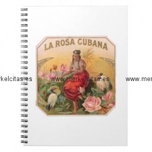 la rosa cubana diseno vintage cuba cuaderno retrocharms 1