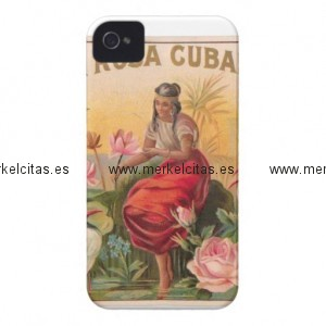 la rosa cubana diseno vintage cuba iphone 4 carcasa retrocharms 1