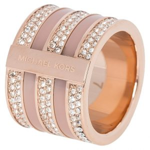 Anillo Michael Kors BRILLIANCE Anillo rosegoldcoloured