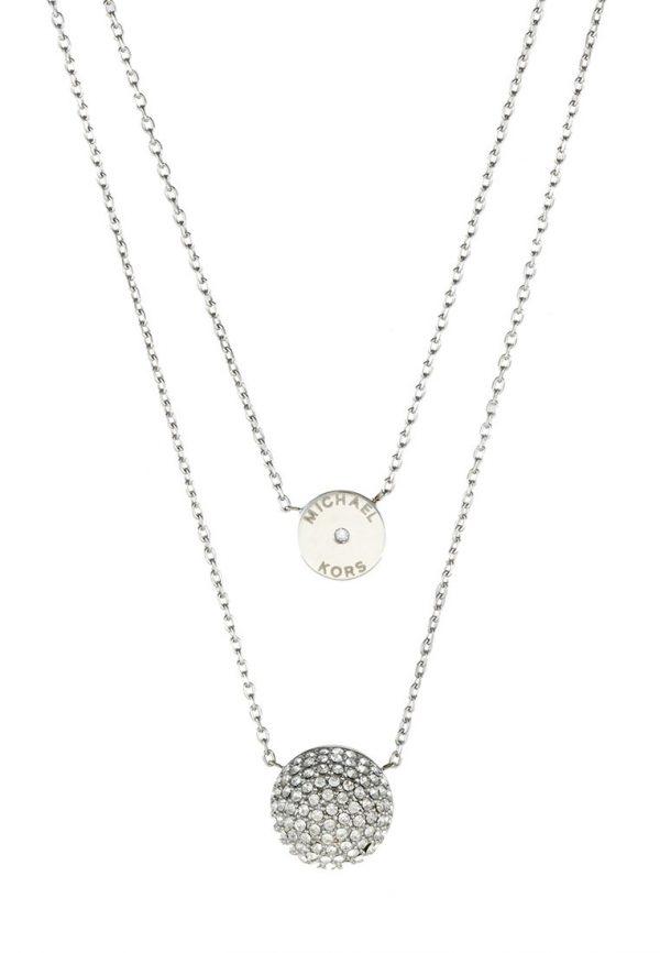 Collares Michael Kors BRILLIANCE Collar silvercoloured