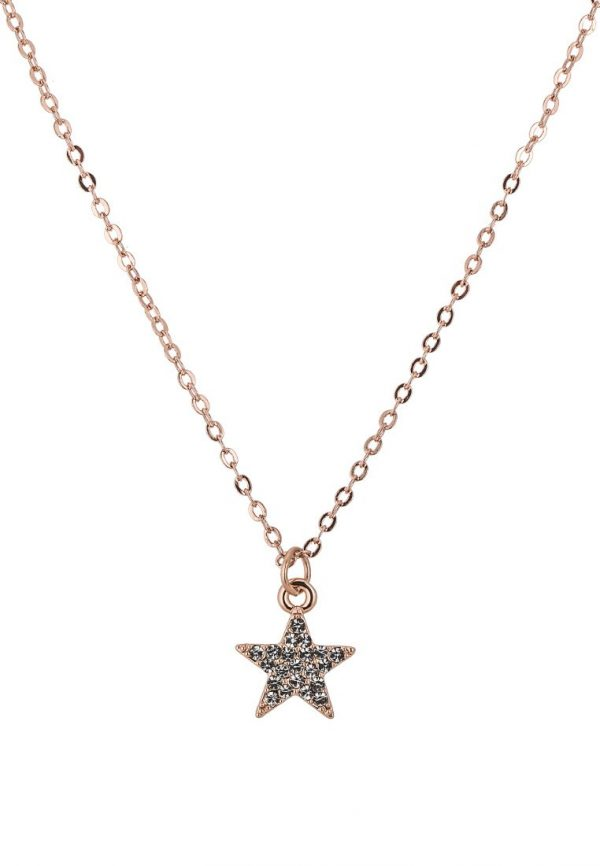 Collares SNO of Sweden STAR Collar rose/clear
