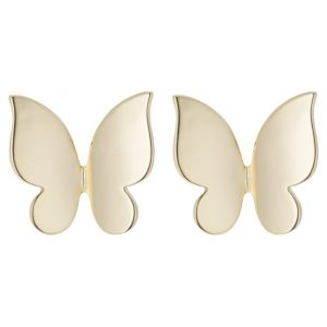 Pendientes SNO of Sweden FREYA gold coloured