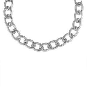 Collares SNO of Sweden MARIO Collar silvercoloured