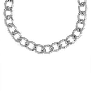 Collares SNO of Sweden MARIO Collar silvercoloured