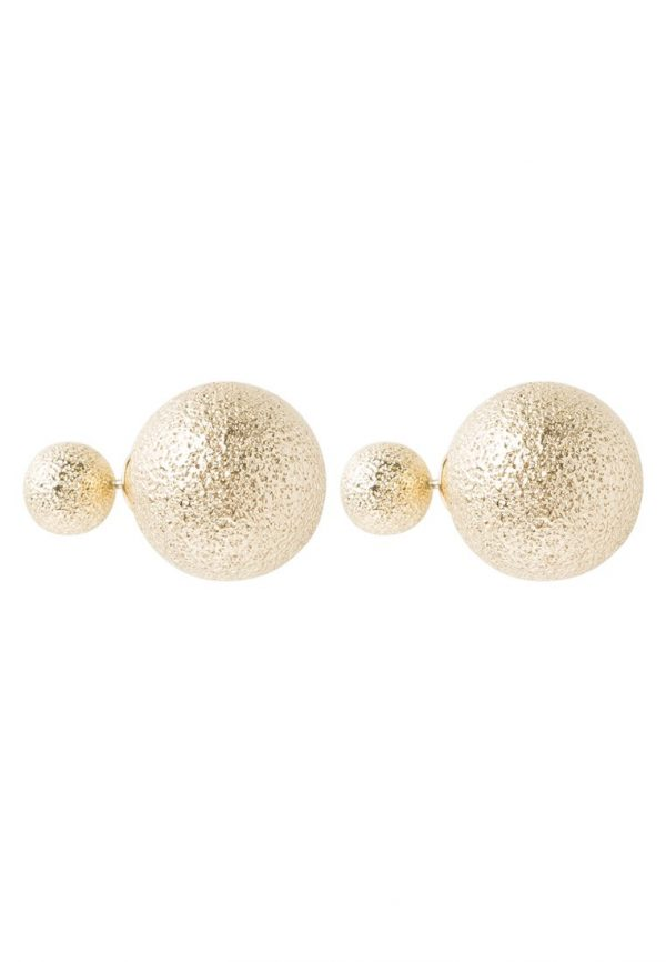 Pendientes SNO of Sweden FLY  goldcoloured