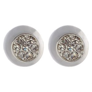 Pendientes SNO of Sweden MELANIE silvercoloured/clear