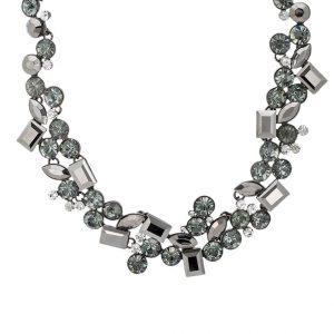 Collares sweet deluxe DORETTE Collar gunmetal/black /crystal
