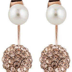 Pendientes sweet deluxe CALIGARI rosegoldcoloured/peach/pearl