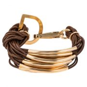 Pulsera sweet deluxe ELLA Pulsera gold/brown