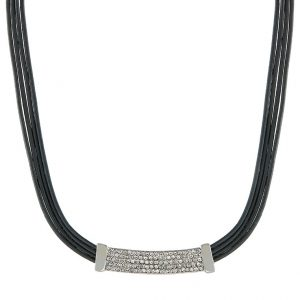 Collares sweet deluxe AMELA Collar silvercoloured / grey