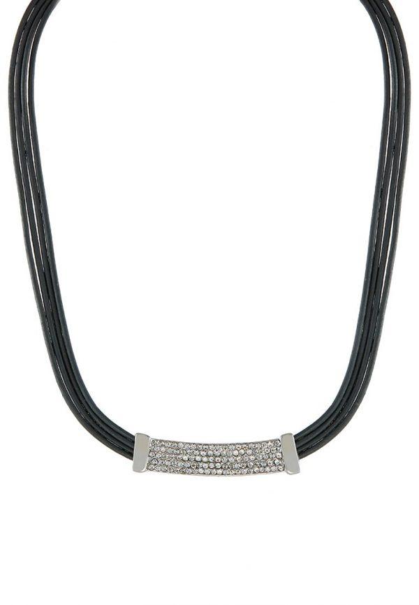 Collares sweet deluxe AMELA Collar silvercoloured / grey