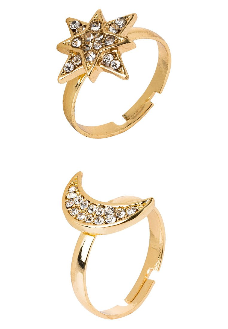 Anillo sweet deluxe SET Anillo goldcoloured/crystal