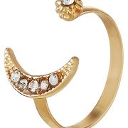 Anillo sweet deluxe Anillo gold/crystal
