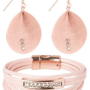 Pulsera sweet deluxe SET rose goldcoloured