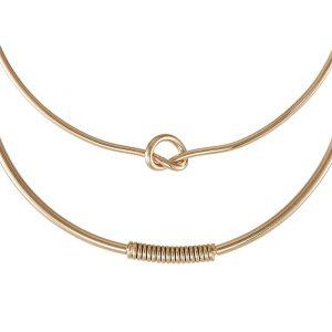 Collares ALDO CERRADIA 2 PACK Collar goldcoloured