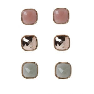 Pendientes ALDO 3 PACK UKMERGE rose goldcoloured/pink