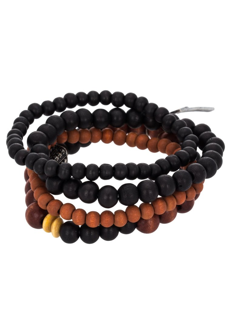 Pulsera Icon Brand TRY Pulsera black/brown