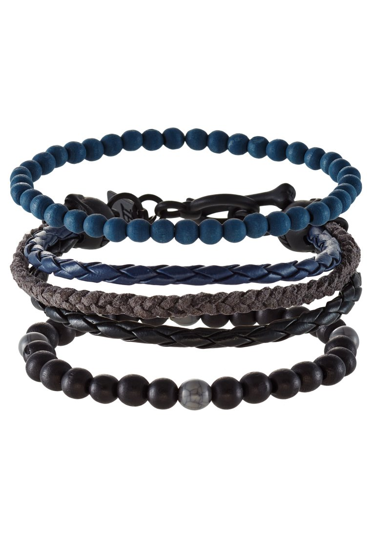 Pulsera Icon Brand 3 PACK Pulsera black/blue