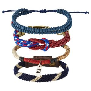 Pulsera Icon Brand 4 PACK Pulsera blue/red